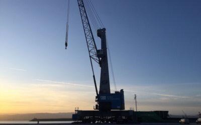 Intervención pericial de Criteria por avería de maquinaria en grúa portuaria autopropulsada